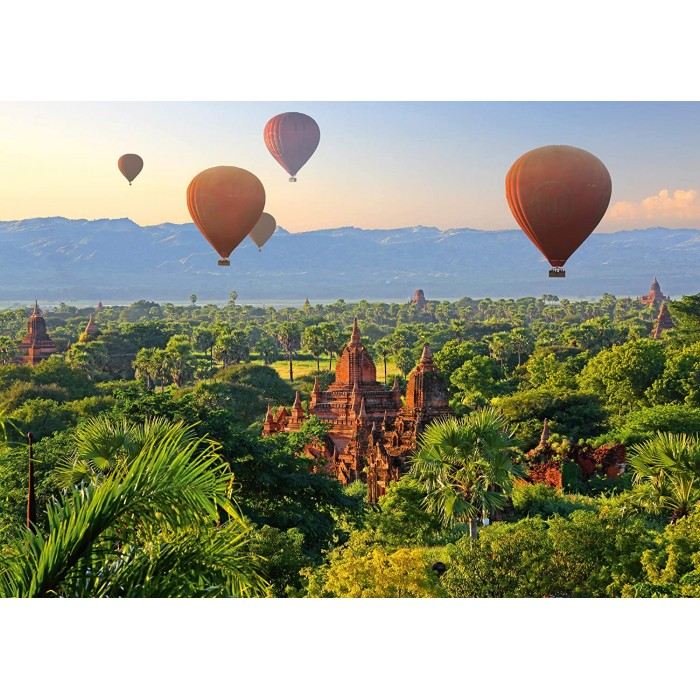 Hot Air Balloons Mandalay Myanmar