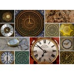 Holzpuzzle - Collages - Clocks