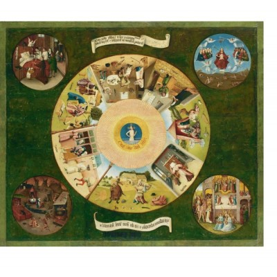 Puzzle Puzzle-Michele-Wilson-A458-1200 Heironymus Bosch