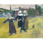 Puzzle  Puzzle-Michele-Wilson-A473-80 Paul Gauguin - Breton Girls Dancing, 1888
