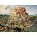 Puzzle-Michele-Wilson-A516-1000 Puzzle aus handgefertigten Holzteilen - Brueghel: Turmbau zu Babel