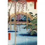 Puzzle-Michele-Wilson-A637-350 Holzpuzzle - Hiroshige - Kameido Tenjin