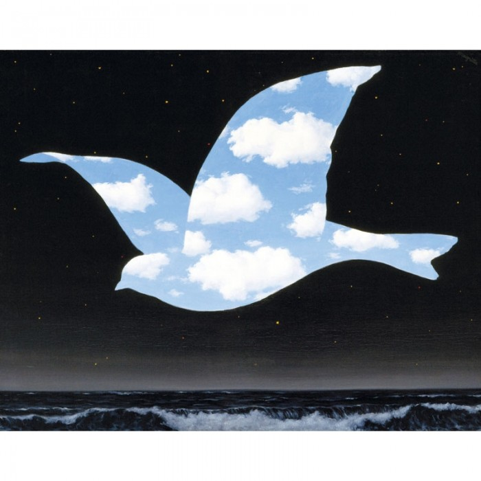 Holzpuzzle - Magritte