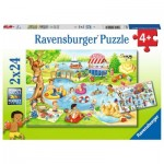 2 Puzzles - Erholung am See