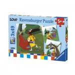 3 Puzzles - Loup