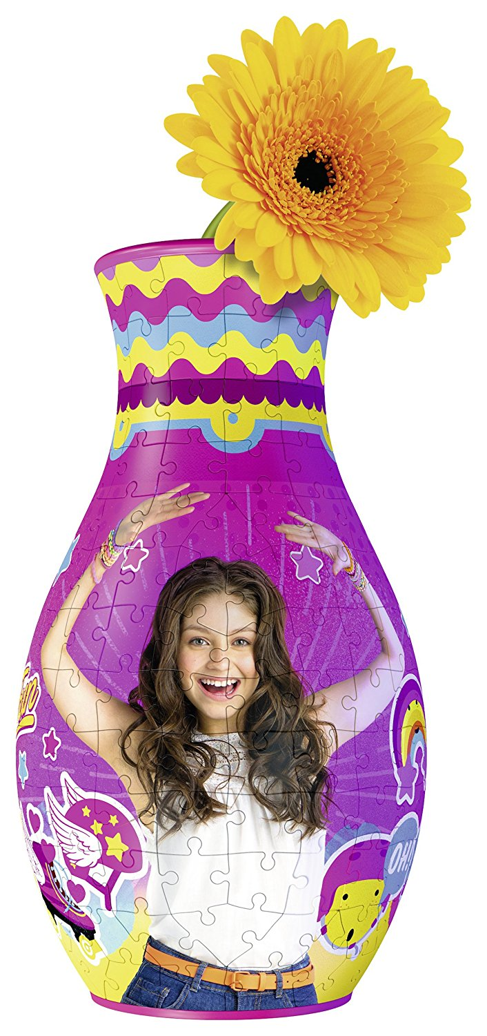 3D Puzzle - Blumenvase - Girly Girl: Soy Luna - 216 Teile ...