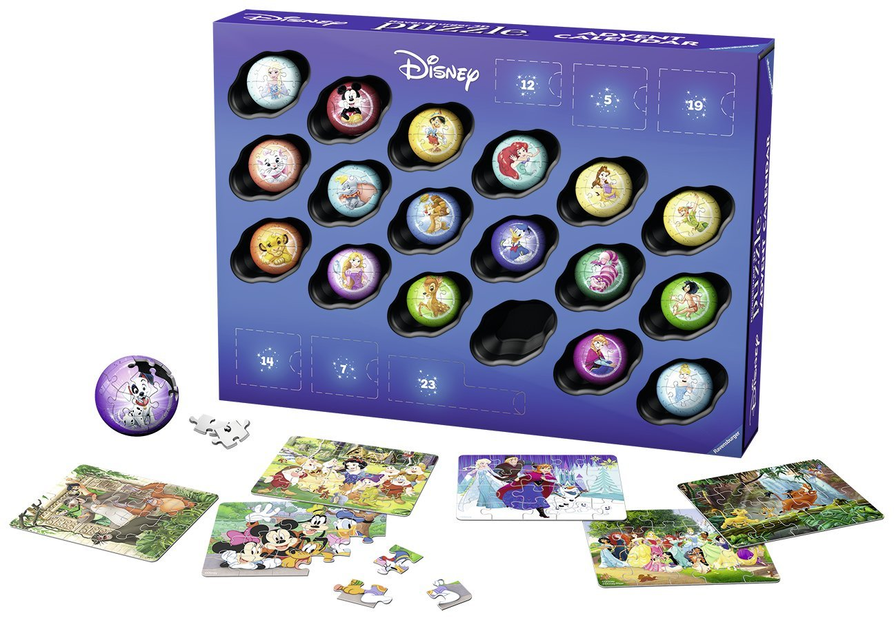 3D Puzzle   Disney Adventskalender 3D Puzzle   Disney Adventskalender
