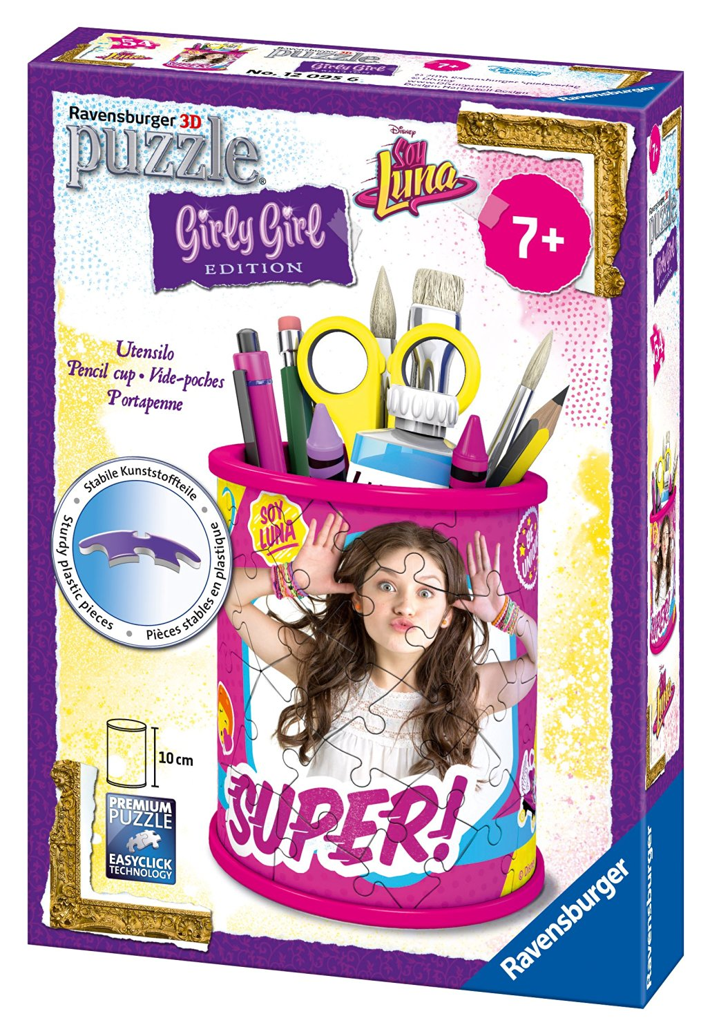 3D Puzzle - Girly Girls Edition - Utensilo Soy Luna - 54 Teile ...