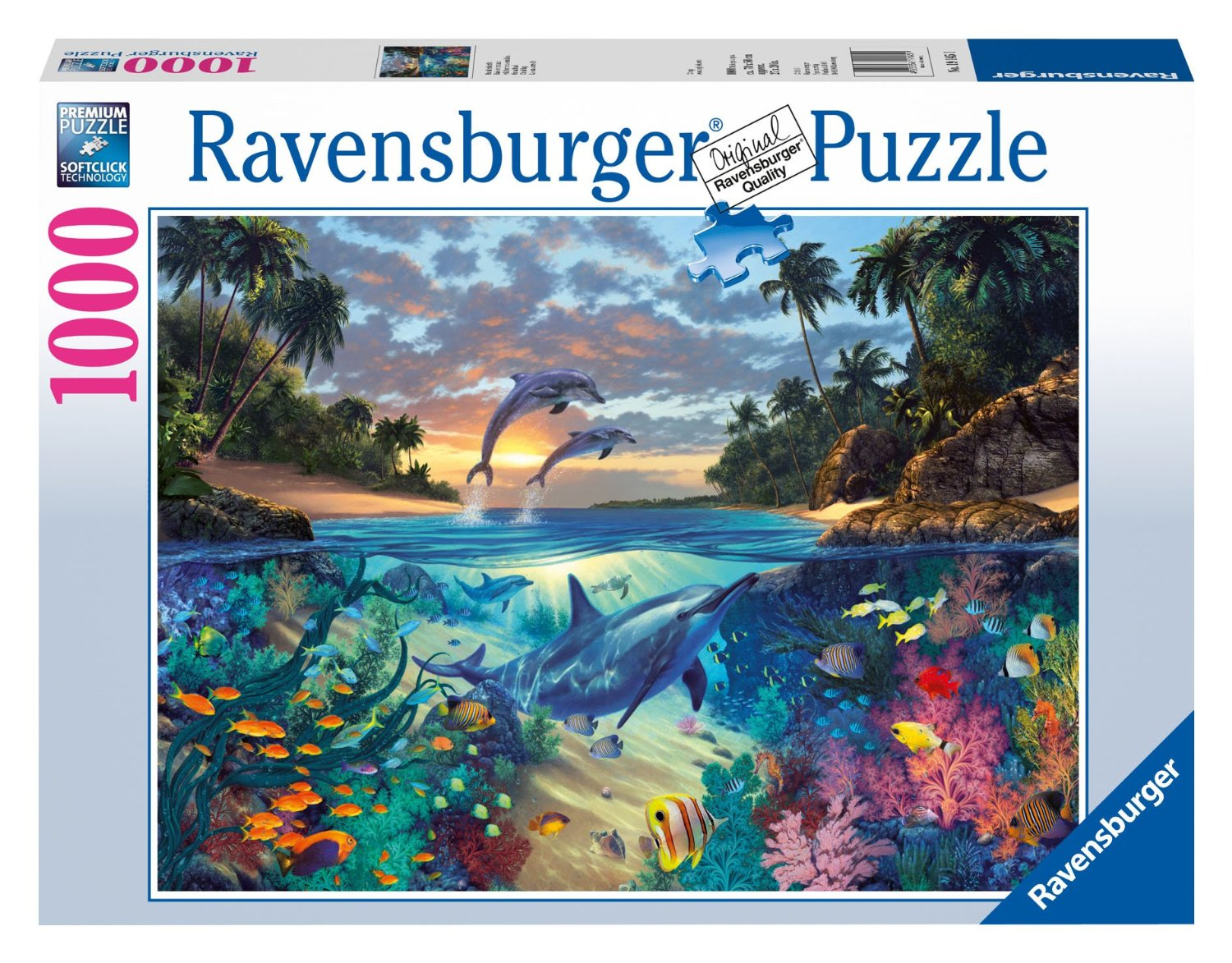 korallenbucht 1000 teile querformat puzzle ravensburger puzzle online kaufen. Black Bedroom Furniture Sets. Home Design Ideas