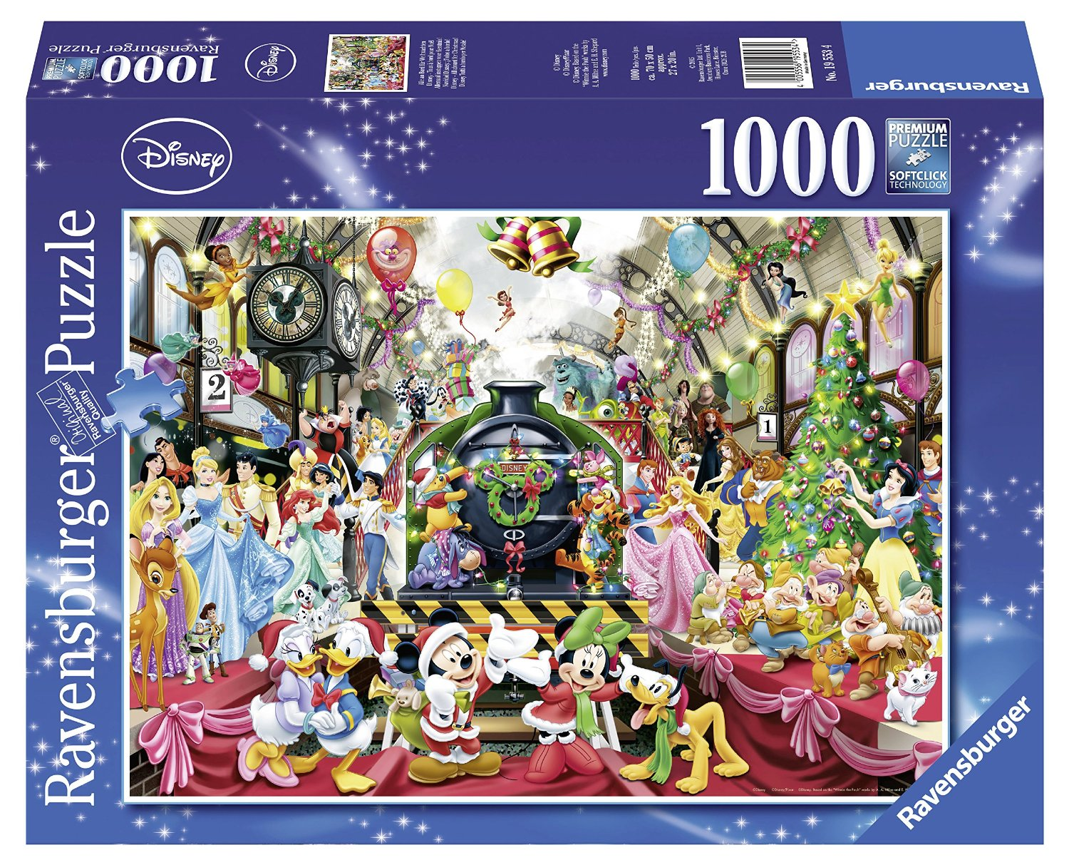 disney weihnachten 1000 teile ravensburger puzzle. Black Bedroom Furniture Sets. Home Design Ideas