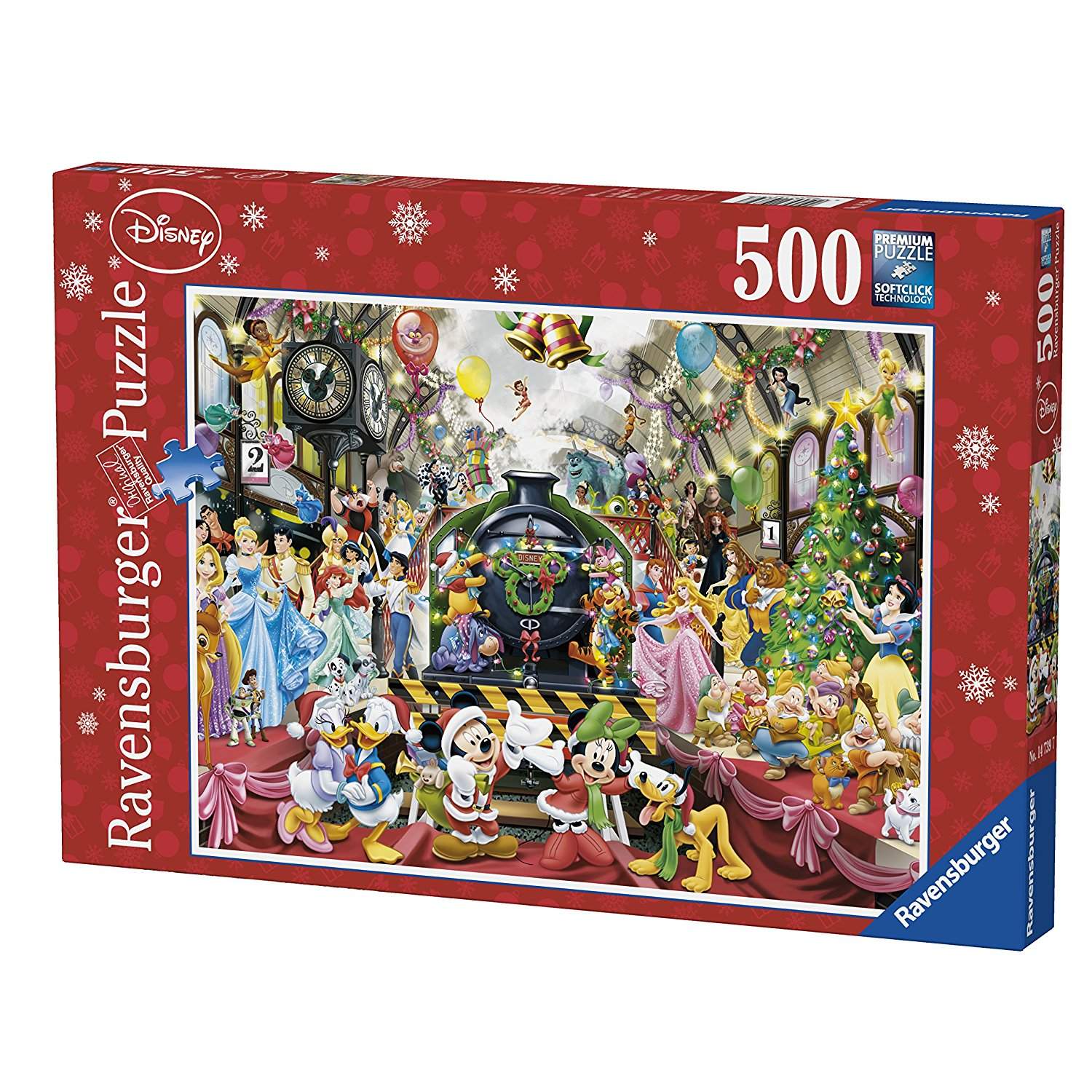 disney weihnachts zug 500 teile ravensburger puzzle. Black Bedroom Furniture Sets. Home Design Ideas