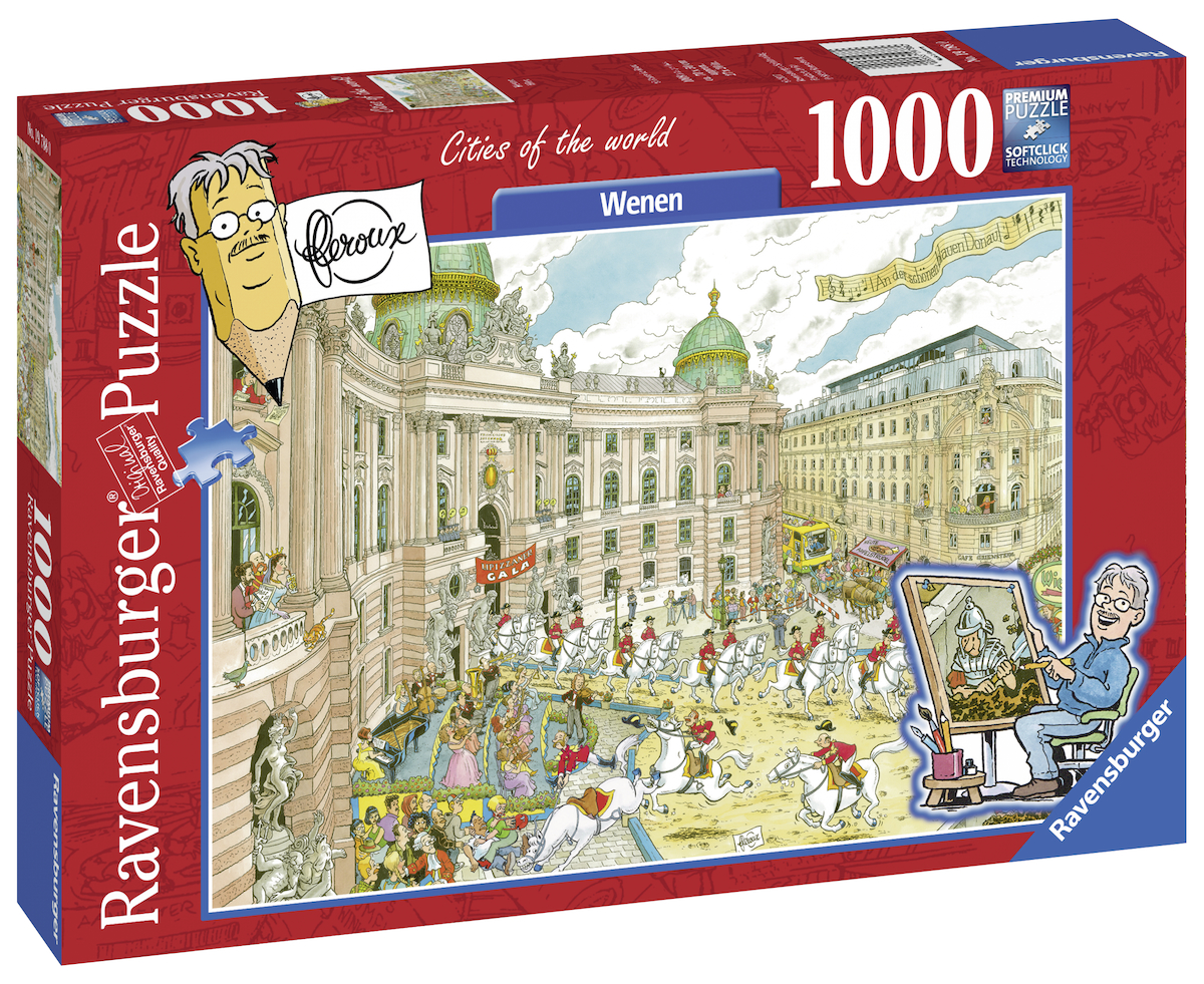 fleroux wien 1000 teile ravensburger puzzle online kaufen. Black Bedroom Furniture Sets. Home Design Ideas
