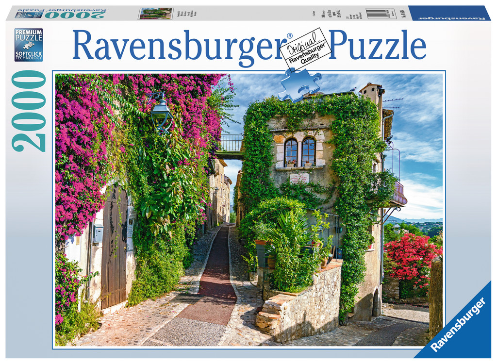 franz sische idylle 2000 teile ravensburger puzzle online kaufen. Black Bedroom Furniture Sets. Home Design Ideas