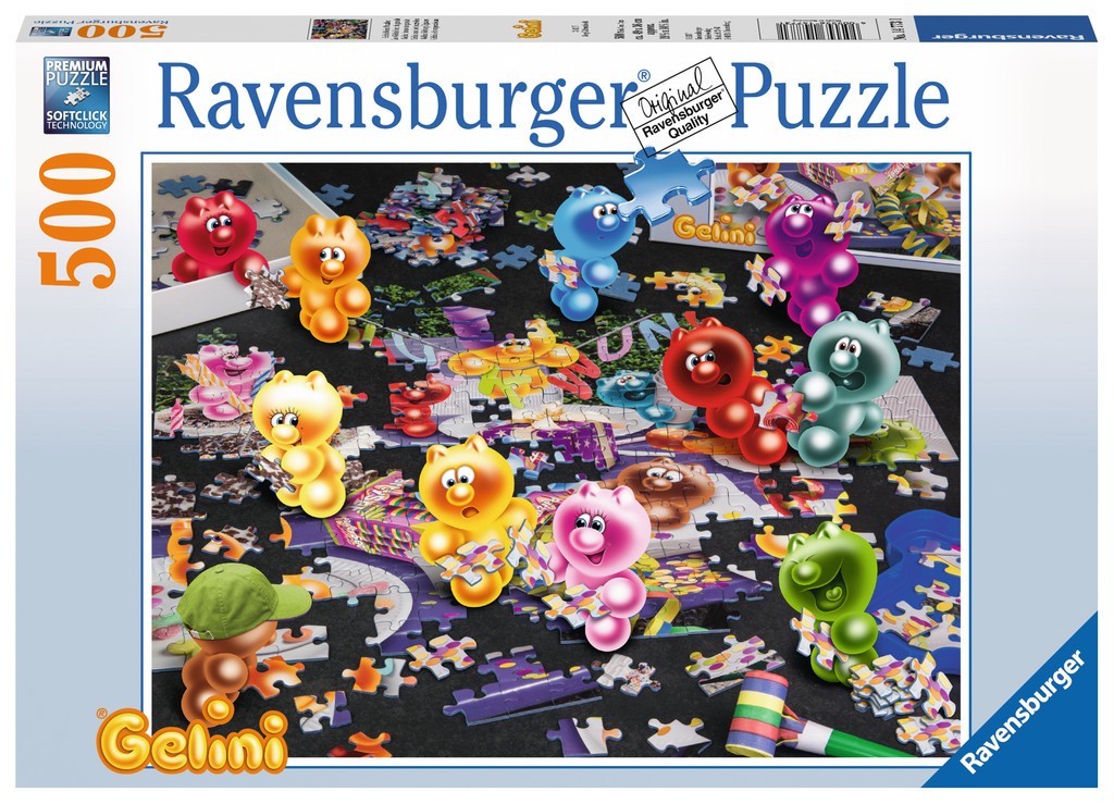 gelini beim puzzlen 500 teile ravensburger puzzle online kaufen. Black Bedroom Furniture Sets. Home Design Ideas