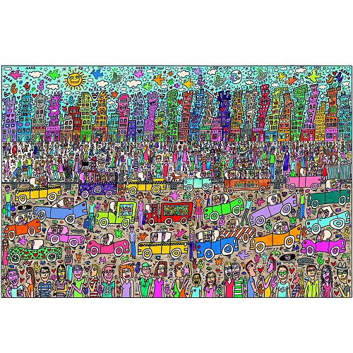 james rizzi 5000 teile ravensburger puzzle online kaufen. Black Bedroom Furniture Sets. Home Design Ideas