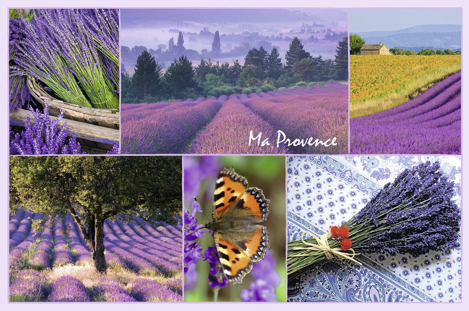 Ma Provence 3000 Teile Querformat Puzzle Ravensburger