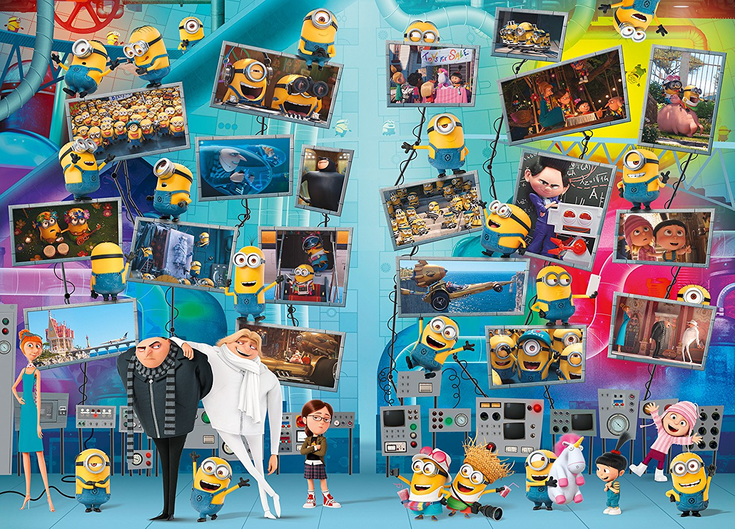 minions 9000 teile ravensburger puzzle online kaufen. Black Bedroom Furniture Sets. Home Design Ideas