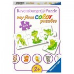 Ravensburger-03006 6 Puzzles - My First Color Puzzles