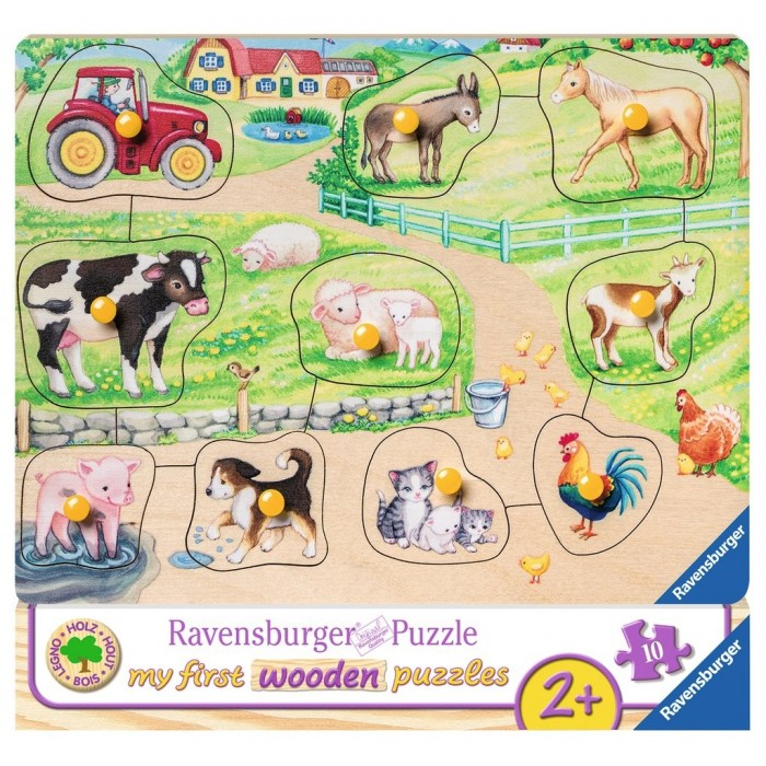 My First Wooden Puzzles
