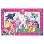 Ravensburger-06129 Rahmenpuzzle - My Little Poney