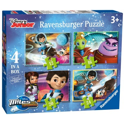 Ravensburger-07012 4 Puzzles - Miles From Tomorrow