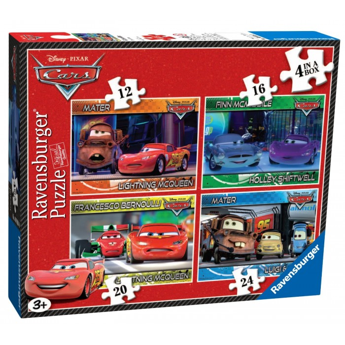 4 Puzzles - Cars