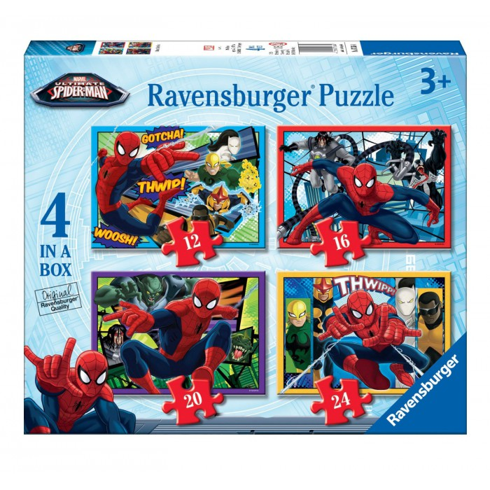4 Puzzles - Spiderman