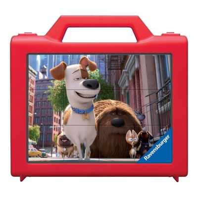 Ravensburger-07422 Würfelpuzzle - Secret Life of Pets