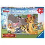 Ravensburger-07599 2 Puzzles - The Lion Guard