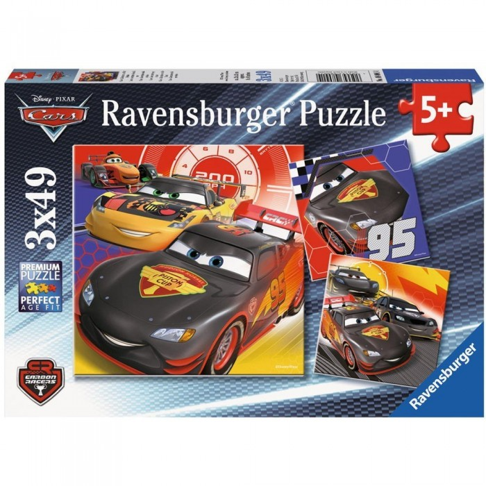 3 Puzzles - Cars