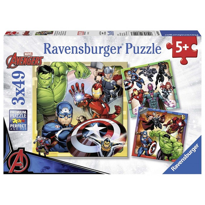 3 Puzzles - Marvel Avengers