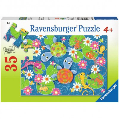 Puzzle Ravensburger-08762 Colorful Reptiles