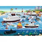 Puzzle  Ravensburger-08793 Happy Harbour