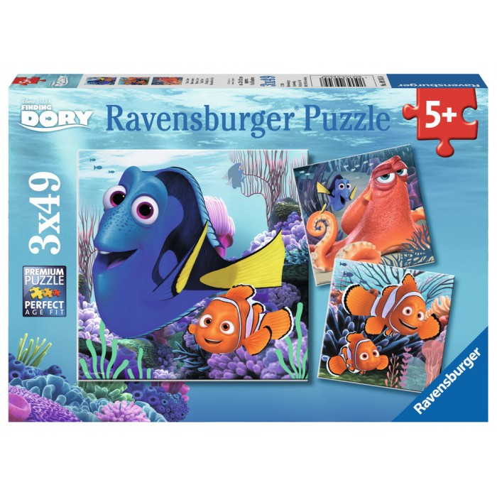 3 Puzzles - Dory