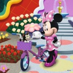 Ravensburger-09359 3 Puzzles - Minnie