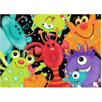 Puzzle Ravensburger-09616 Monster Buddies