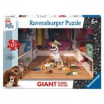 Ravensburger-09785 Riesen-Bodenpuzzle - Secret Life of Pets