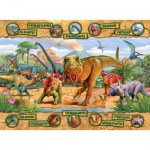 Puzzle  Ravensburger-10609 Dinosaurier