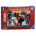 Puzzle  Ravensburger-10716 XXL Teile - Disney Pixar The Incredibles 2