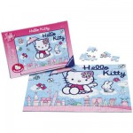 Puzzle  Ravensburger-10801 Hello Kitty