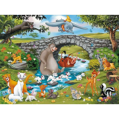 Puzzle Ravensburger-10947 Die Familie der Animal Friend