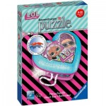 Ravensburger-11164 3D Puzzle - Herzschatulle - LOL Surprise!
