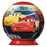 Ravensburger-11825 3D Puzzle-Ball - Cars 3