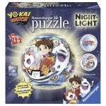 Ravensburger-11827 3D Puzzle mit LED - Yo-Kai Watch
