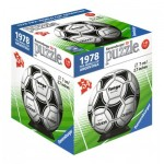 Ravensburger-11937-03 3D Puzzle-Ball - 1974 Fifa Word Cup