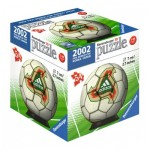 Ravensburger-11937-09 3D Puzzle-Ball - 2002 Fifa Word Cup