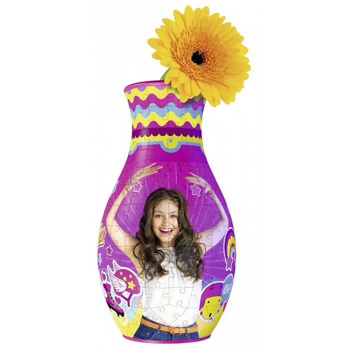 3D Puzzle - Blumenvase - Girly Girl: Soy Luna
