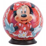 Ravensburger-12139 Puzzleball - Minnie