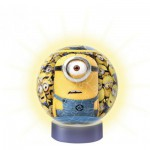 Ravensburger-12191 Minions - 3D Puzzle-Ball mit Led