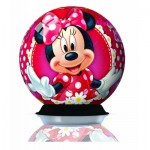 Ravensburger-12234 3D Puzzle - Minnie